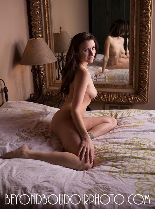 Erotic boudoir photoshoot Portland Oregon