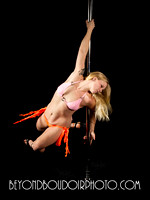 Portland Pole Dancer Blonde One