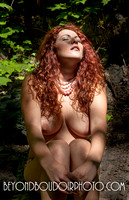 Sunshine Redhead - outdoor portrait by Portland's best boudoir photographer