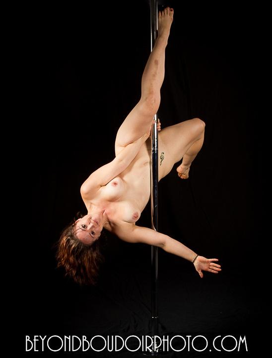 Portland Pole Dancer, Brunette One