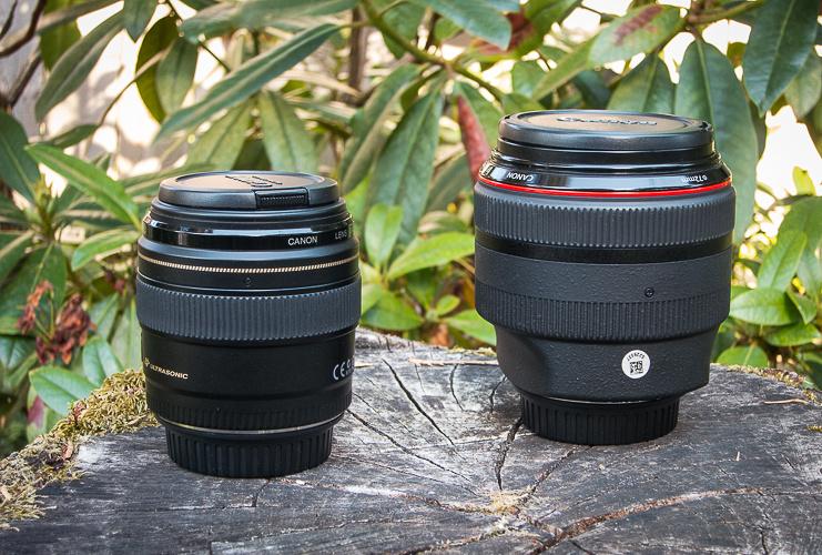 Canon 85mm comparison test