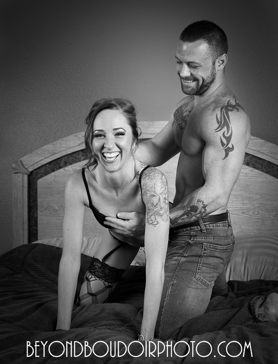 Erotic Photoshoot for a Portland Couple