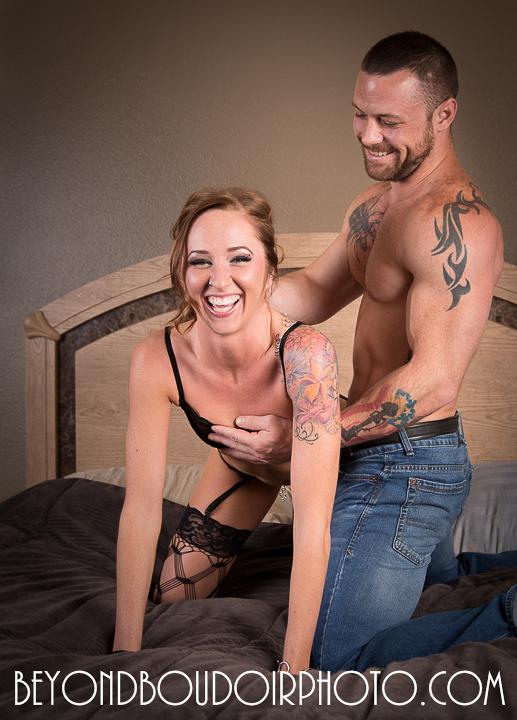 erotic couple's photoshoot by Portland's Best Boudoir Photographer