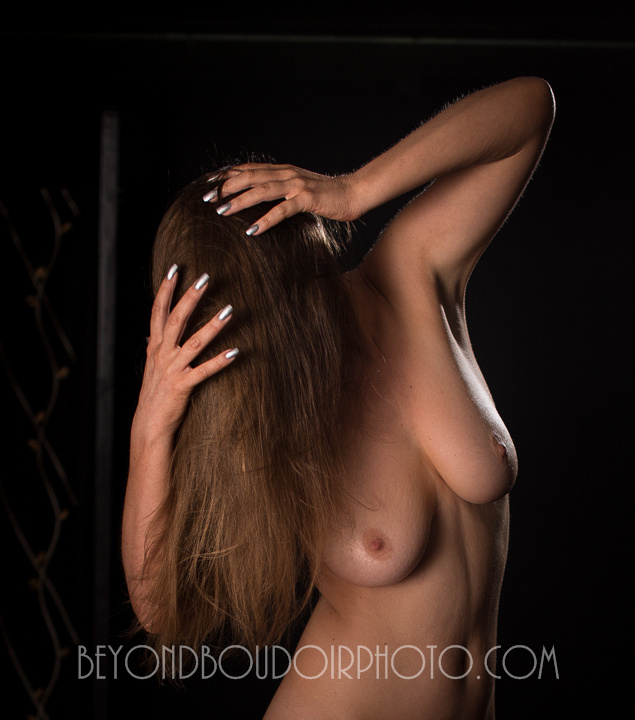 Nude Photographry, hiding the face